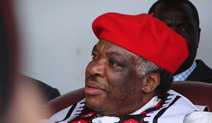 The late  Republican president Levy Mwanawasa
