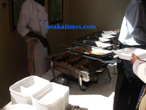 Fairview hotel where Zambian executives have lunch