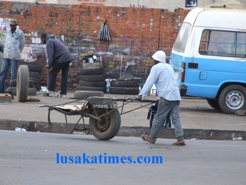 The unemployed making a living on the streets of Lusaka
