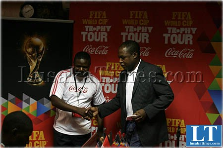 FIFA world cup Trophy Tour, Lusaka, Zamba