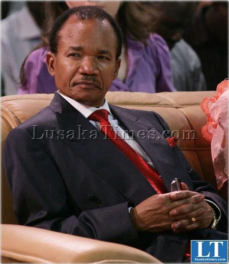 Late Frederick Chiluba
