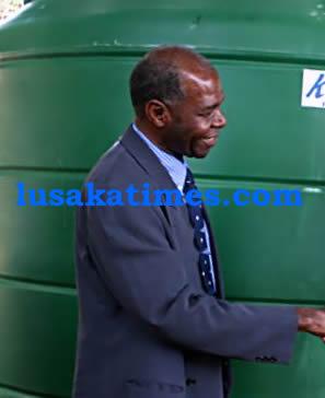 PATROTIC Front Kanyama Member of Parliament Gerry Chanda