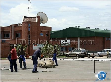 The one stop border post in Chirundu