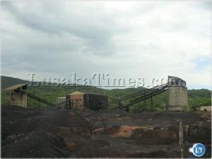 Maamba Colliries (MCL) coal processing plant