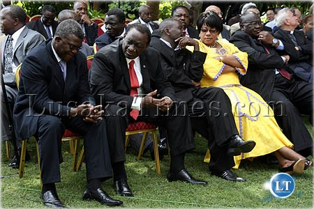 Some cabinet and deputy ministers look tense and uncertain about ...