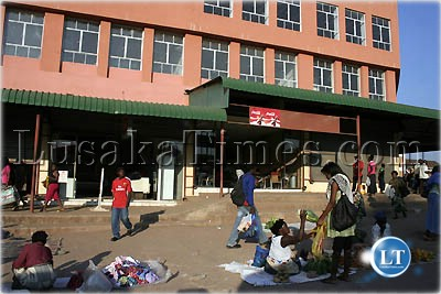 Development of Freedom Park Shopping Mall in Kitwe stalls