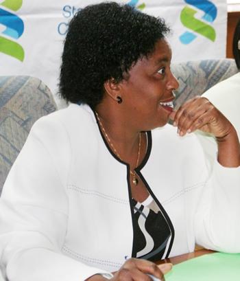 Federation of Free Trade Unions of Zambia (FFTUZ) president Joyce Nonde-Simukoko