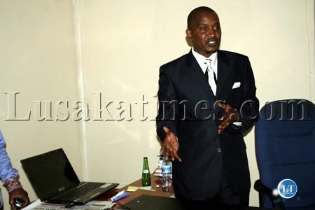 New Generation Party president Humphrey Siulapwa