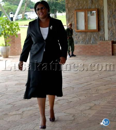 Education Minister Dora Siliya
