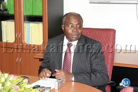 Finance and National Planning Minister Situmbeko Musokotwane