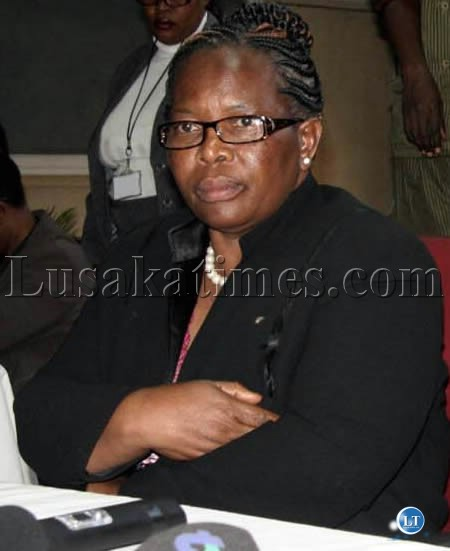 ECZ Chairperson Justice Ireen Mambilima