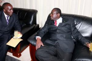 Mines Minister Wylbur Simuusa