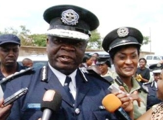 Inspector General of Police Martin Malama