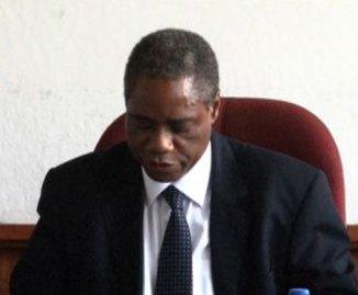 Agriculture minister Emmanuel Chenda