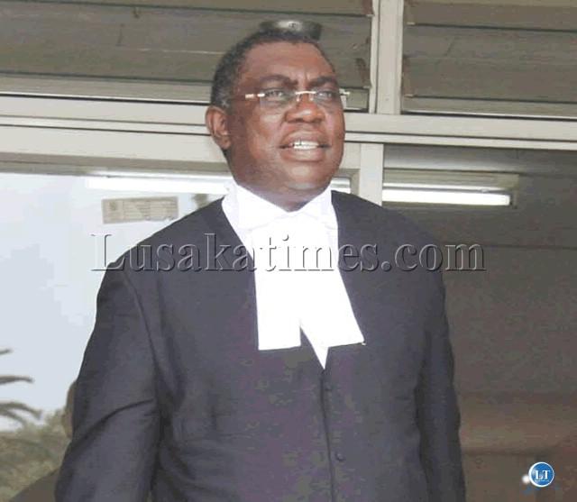 Lawyer Sakwiba Sikota