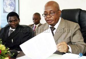 Education Minister John Phiri deputy Minister David Mahumba