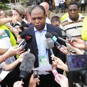 Football Association of Zambia (FAZ) President Kalusha Bwalya