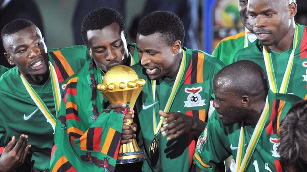Zambia : Zambia National Team Now Ranked 43rd In The World