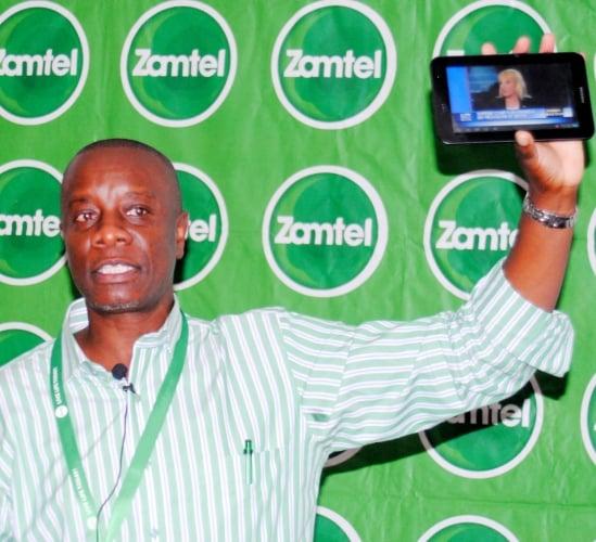 ZAMTEL CEO Mupanga Mwanakatwe