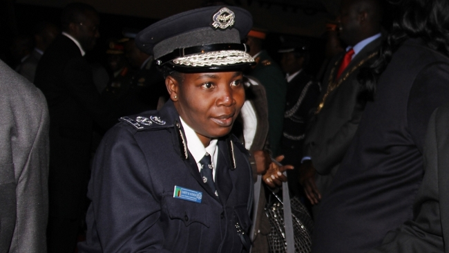 Copperbelt Province Police Commissioner Charity Katanga