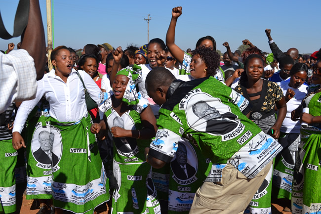 PF cadres in Livingstone