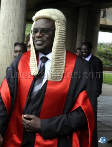 Speaker of the National Assembly Patrick Matibini