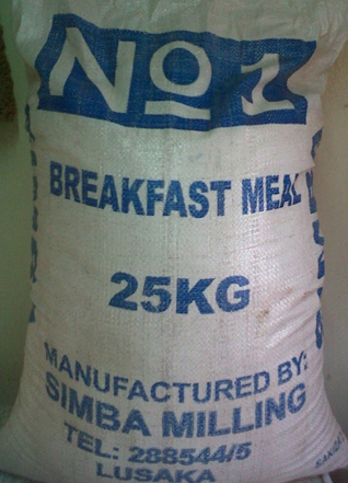 Bag of Mealie meal
