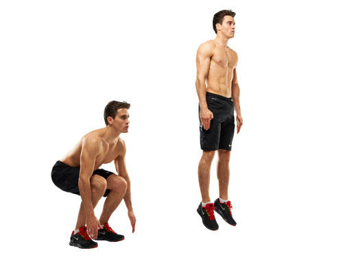 how to use arms cor vertical jump