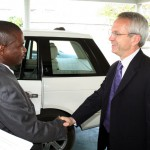 British High Commissioner to Zambia James Thornton