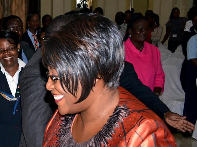 First Lady Christine Kaseba