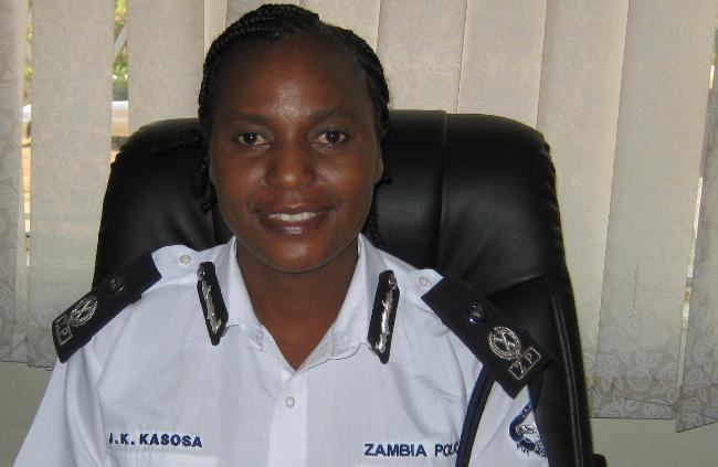 Copperbelt police commissioner Joyce Kasosa