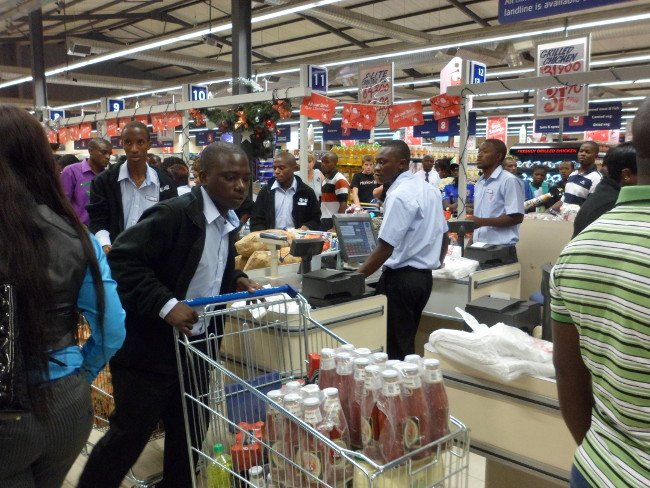Pick n Pay Staff during the opening of the store