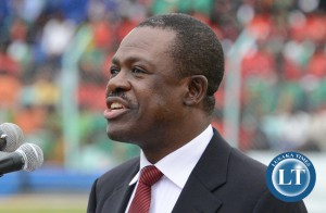 Secretary General of the ruling Patriotic Front (PF) Wynter Kabimba
