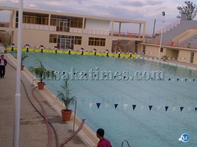 The Completed Olympic Youth Development Centre Swimming Pool