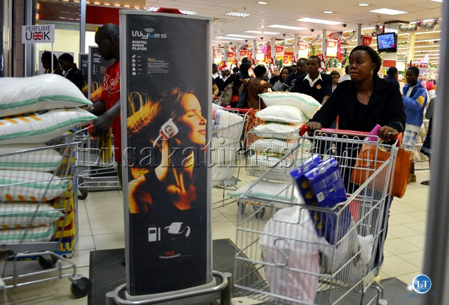 Christmas Shopping in Lusaka