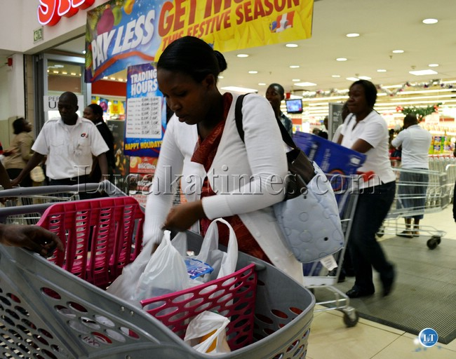 Shopping in Lusaka