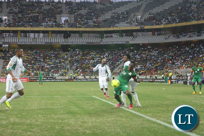 Zambia's goes down for Zambia's informous soft penaulty against Nigeria
