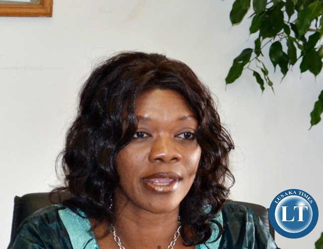 Tourism and Arts Minister Sylvia Masebo