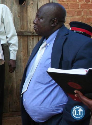 Mumbwa District Commissioner Sunday Shamabanse