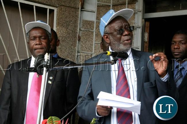 Labour Minister Fackson Shamenda
