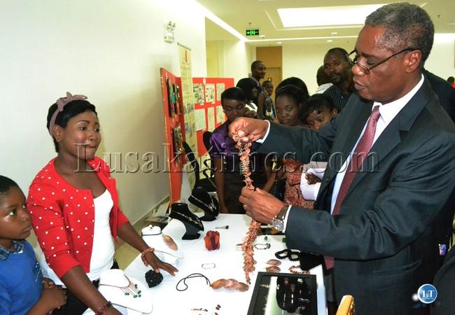 Commerce Minister Emmanuel Chenda