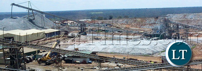 FIRST Quantum Minerals (FQM) Copper Mine in Solwezi