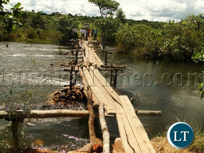 MWAMBA Bridge which is earmarked to be constructed by the use of Disaster Mitigation Management Unit (DMMU) that will link people of Senior Chief Mwamba and the other side of the Luombe river to the main Kasama-Luwingu road