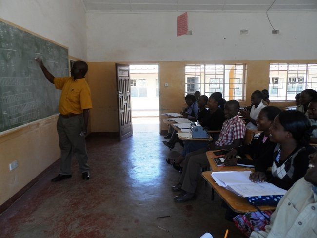 Chipata College of Education students