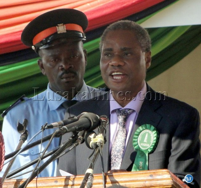 Local Government and Housing Minister Emmanuel Chenda