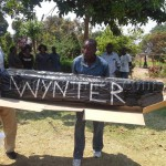 FILE: PF Anti-Kabimba cadres in Kasama carry a mock coffin