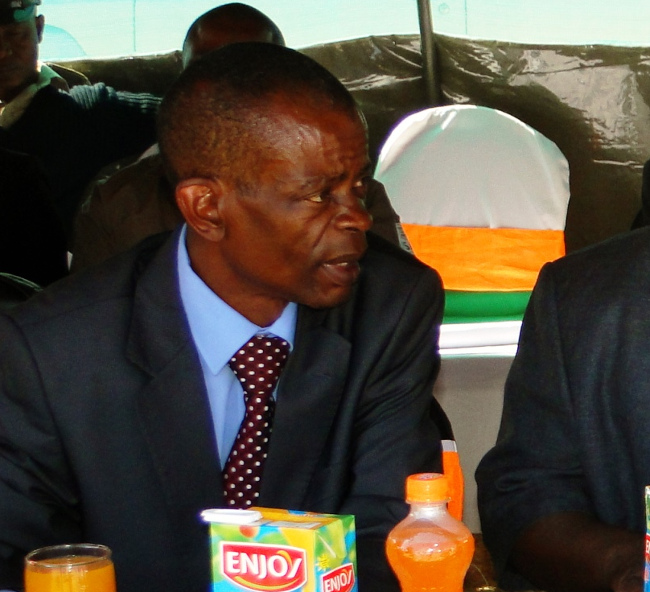 Minister for Community Development, Mother and Child Health Dr. Joseph Katema