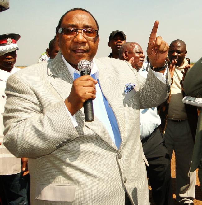DEFENCE Minister Geoffrey Bwalya Mwamba (GBM)