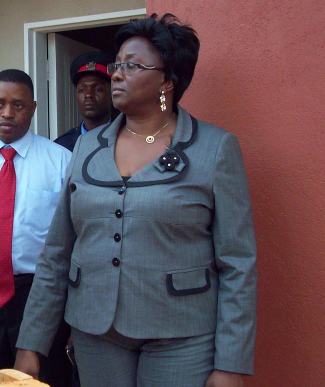 Local Government minister Emerine Kabanshi