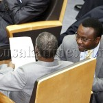 President Sata with Mr George Chellah at AU Summit